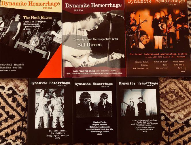 Dynamite Hemorrhage fanzines