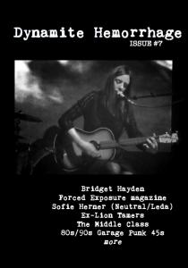 Dynamite Hemorrhage 7 cover